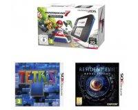 Fnac: Console Nintendo 2DS + Mario Kart 7 + Tétris Axis + Resident Evil à 79,90€