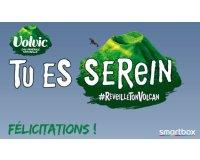 Volvic: 40 cartes cadeaux Smartbox de 40€ à gagner par instant gagnant