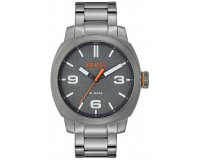 Zalando: Montre Hugo Boss BOSS ORANGE Cape Town - grey à 93,50€