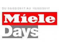 Darty: Miele Days : 1 une offre promotionnelle Miele à découvrir chaque jour