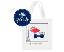 Palais des Thés: 1 tote bag offert pour l'achat d'un coffret cadeau Paris