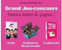 Jeff de Bruges: Du chocolat et des DVD de Bridet Jones à gagner