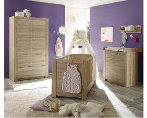 Chambre b b compl te 3 pi ces carlotta lit armoire commode 499 cdiscount - Chambre bebe complete cdiscount ...