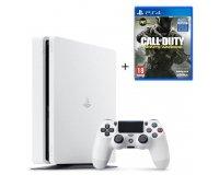 Cdiscount: PS4 Slim 500 Go Blanche + le jeu Call of Duty Infinite Warfare à 299,99€