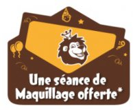 King Jouet: 1 séance de maquillage offerte pour les enfants venant déguisés en magasin