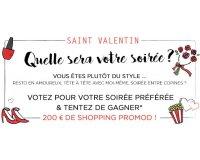 Promod: 200€ de shopping à gagner pour la Saint Valentin