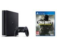 Fnac: Console Sony PS4 Slim 500 Go + Call of Duty Infinite Warfare à 299,90€
