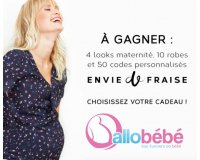 Allobébé: 4 looks maternité, 10 robes et 50 codes promo Envie de Fraise à gagner
