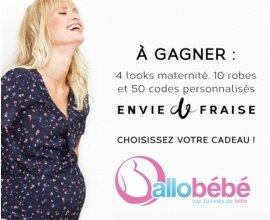 Allobébé: 4 looks maternité, 10 robes et 50 codes promo Envie de Fraise à gagner