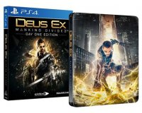 Micromania: Deus Ex Mankind Divided - Day One Edition - Steelbook sur PS4 à 9,99€