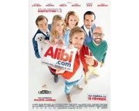 """Rire et chansons: 50 places de cinéma pour le film """"Alibi.com"""" à gagner"""