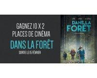 Cinéfil: 10 x 2 places de cinéma pour voir le film Dans la forêt à gagner