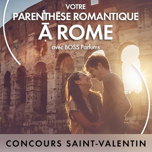 Code promo Elle : Un week-end à Rome en hôtel 4* à gagner avec Elle et Boss Parfums