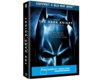 Fnac: Coffret Blu-ray édition spéciale Trilogie The Dark Knight à 12,50€