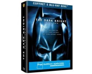 Amazon: Coffret Blu-ray édition spéciale Trilogie The Dark Knight à 12€