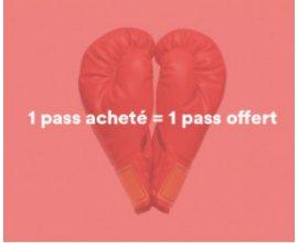Gymlib: 1 pass acheté = 1 pass offert pour la Saint Valentin