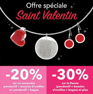 Code promo Pylones : -20% sur un ensemble de bijoux & -30% sur une parure pour la Saint-Valentin