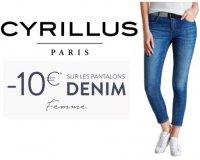 Cyrillus: 10€ offerts sur les Denim femme
