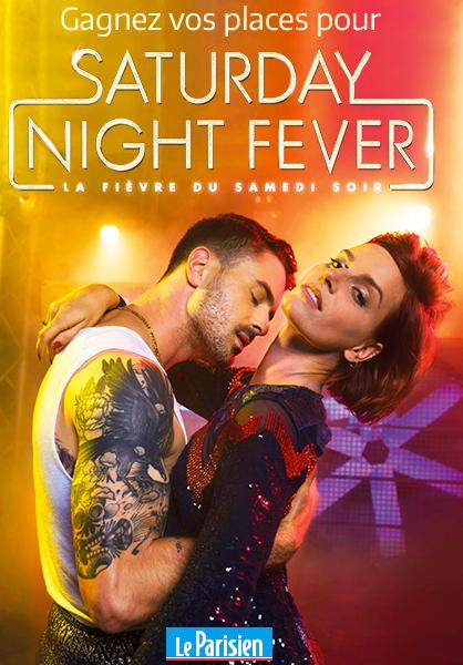 Code promo Le Parisien : 50 places pour le Spectacle Saturday Night Fever à gagner