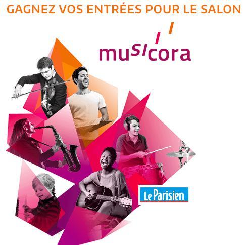 Code promo Le Parisien : Des entrées pour le salon Musicora à gagner