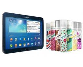 NRJ12: 1 tablette Samsung Galaxy Tab & 5 shampooings secs Batiste à gagner