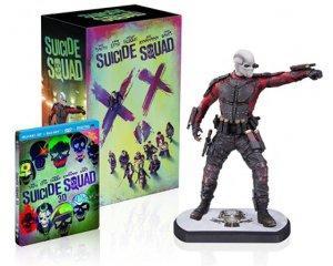 Amazon: [Prime] Coffret Blu-ray Suicide Squad édition limitée + Statue Deadshot à 43,99€