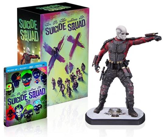 Code promo Amazon : [Prime] Coffret Blu-ray Suicide Squad édition limitée + Statue Deadshot à 43,99€
