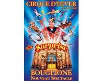 Le Figaro: 60 places (15x4) pour le cirque d'hiver Bouglione à gagner