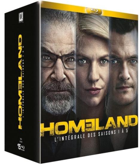 Code promo Amazon : Coffret Blu-ray de la série Homeland - L'intégrale des Saisons 1 à 5 à 49,99€