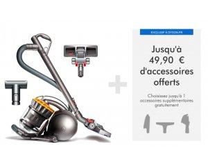 Dyson: Un accessoire à 49€ offert pour l'achat de l'aspirateur DC33c Mattress