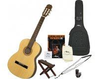 Woodbrass: Le kit Manuel Rodriguez CAB10 pour débuter la guitarre passe de 333,34€ à 216€
