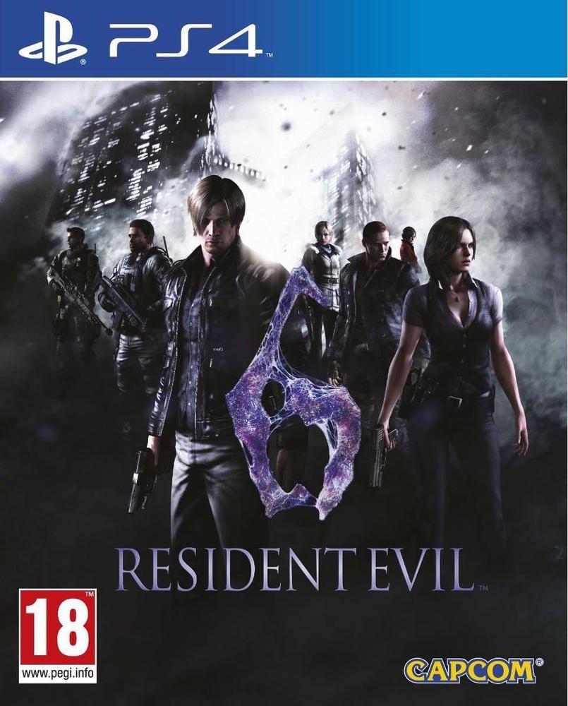 Code promo Amazon : Le jeu Resident Evil 6 sur console Playstation 4 à 19,19€ au lieu de 24,99€