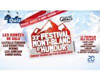 20 Minutes: 1 week-end au ski pendant le Festival Mont-Blanc d'Humour à gagner
