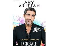 Virgin Radio: 4 places (2x2) pour le spectacle de Ary Abittan à La Cigale à Paris à gagner
