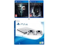 Cdiscount: PS4 Slim 500 Go + 2e Manette + Dishonored 2 & Definitive Edition à 339,99€
