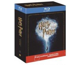 Fnac: Harry Potter L'intégrale des 8 films en Blu-ray édition spéciale à 30€