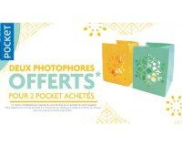 Pocket: 2 livres aux éditions Pockets achetés = 2 photophores offerts