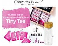 Elle: 1 cure Tiny Tea Teatox 28 jours + un mug en verre à gagner