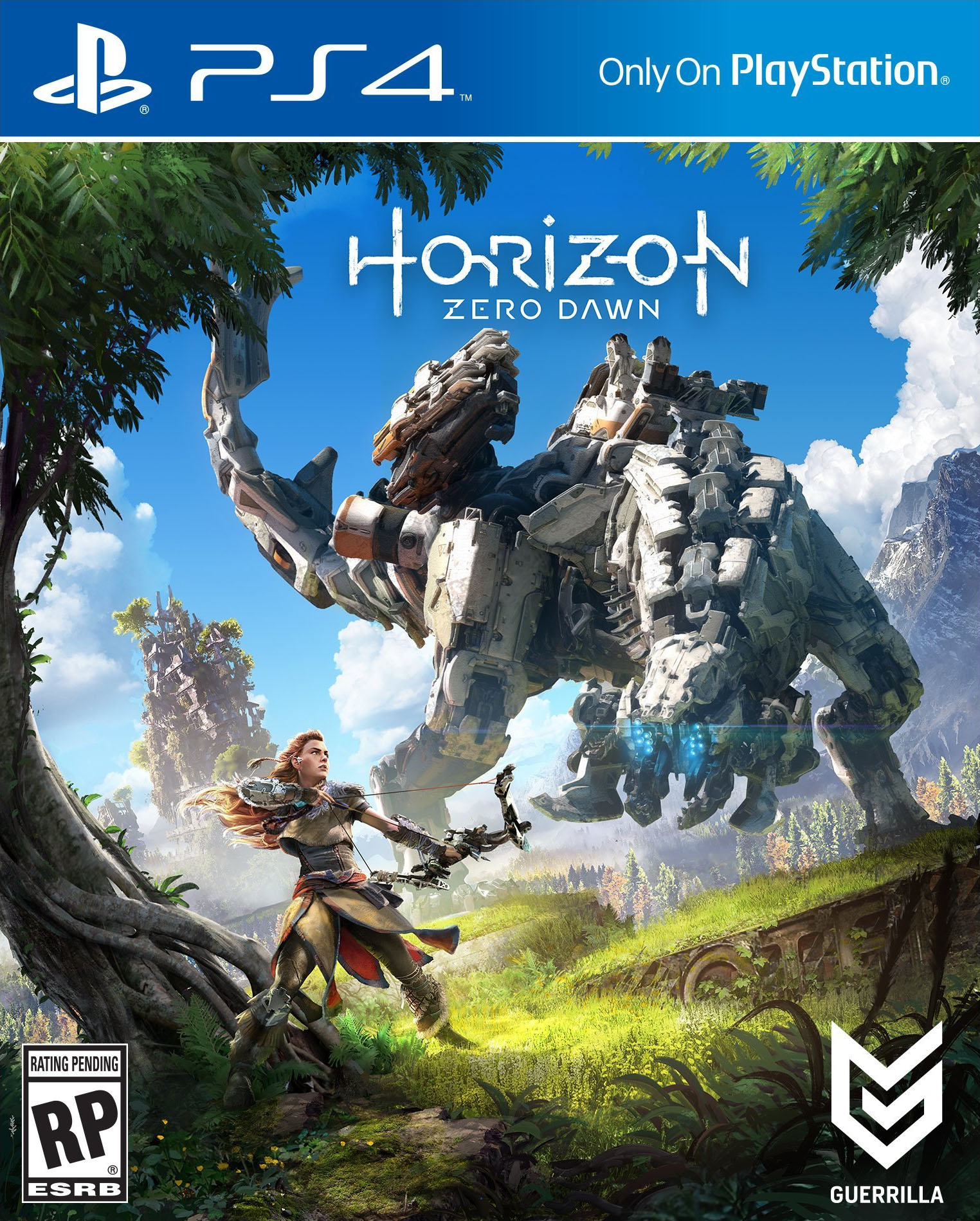jeu horizon zero dawn sur ps4 19 95 rue du commerce. Black Bedroom Furniture Sets. Home Design Ideas