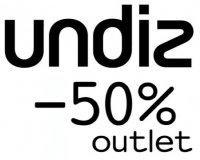 Undiz: Outlet Undiz : 50 % de réduction immédiate sur tous les articles