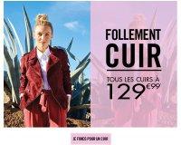NAF NAF: Toutes les vestes en cuir au prix unique de 129,99€