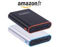 Amazon: La batterie externe Lumsing 13400mah avec charge rapide & USB type C à 16,50€