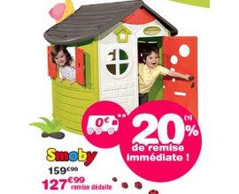 ToysRUs: 20% de réduction sur les Maisons Smoby