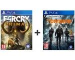 Auchan: Far Cry Primal + The Division sur PS4 à 29,99€