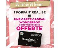 Tchip Coiffure: 1 carte Wonderbox de 30€ offerte pour un forfait coiffure