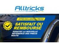 Alltricks: 15 jours de garantie satisfait ou remboursé pour l'achat de pneus Michelin Power