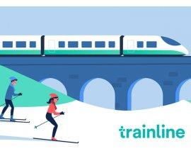 Femme Actuelle: 3 bons d'achat de 500€ pour partir au ski avec Trainline à gagner