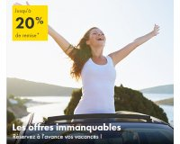 Europcar: Jusqu'à 20% de réduction en réservant votre voiture à l'avance
