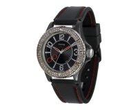 Amazon: La montre femme étanche Moog Paris à cadran et bracelet noirs passe de 59€ à 39€
