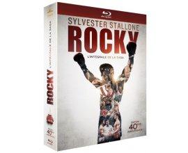 Amazon: Rocky - L'intégrale de la saga en Blu-ray à 22,99€